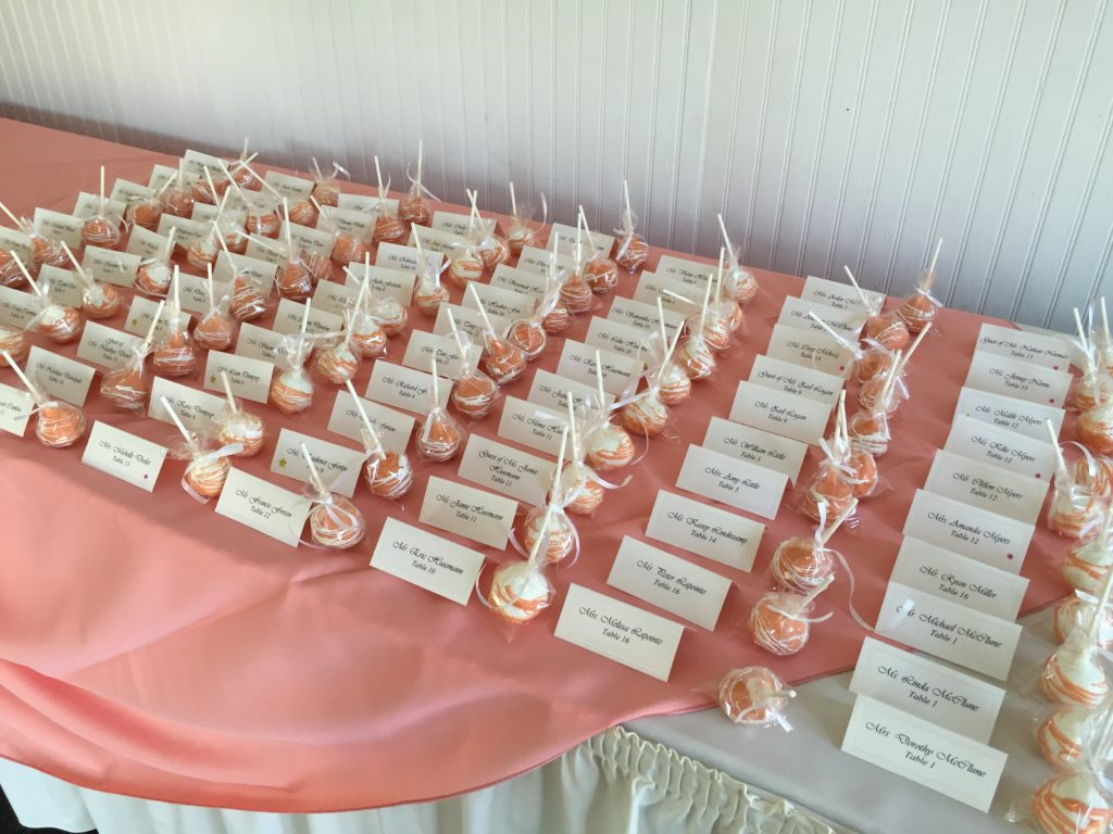 table name cards Wellwood events Maryland