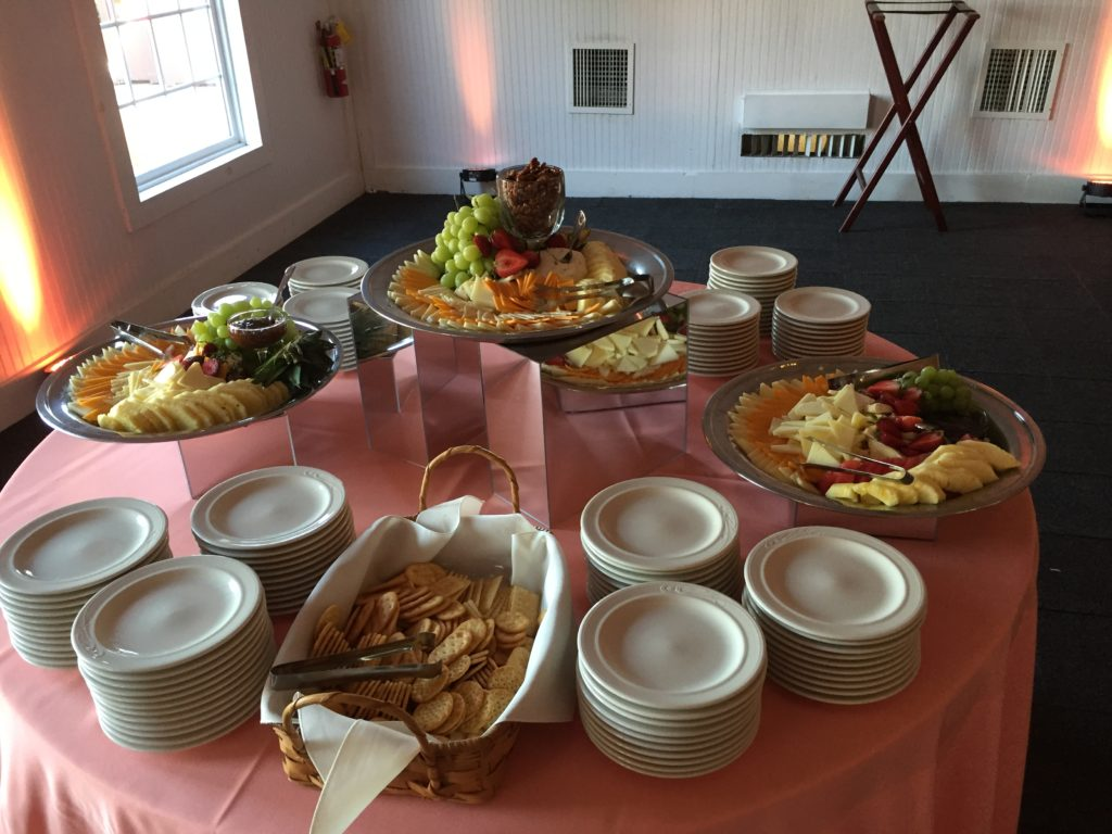 Wellwood events snack table Maryland