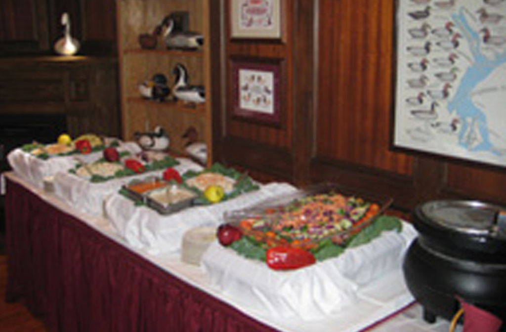 Banquet tables in northeast Maryland